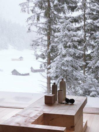 Foto di alcuni dettagli Mountain Lodge Tamersc