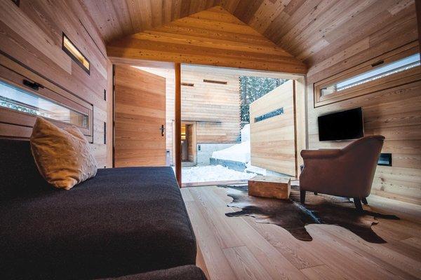 La zona giorno Mountain Lodge Tamersc - Casa vacanze
