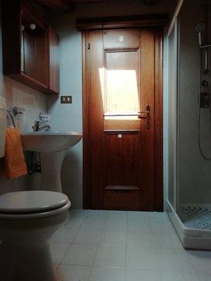 Photo of the bathroom Apartments Casanova Borca Mario