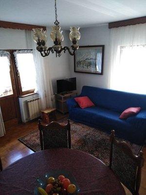 The living area Apartments Casanova Borca Mario