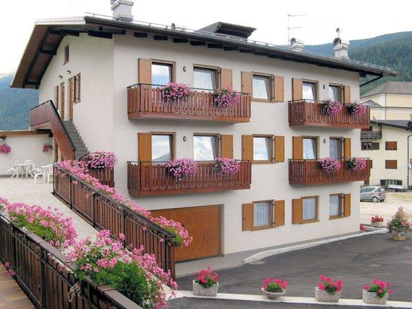 Sommer Präsentationsbild Ferienwohnungen in den Dolomiten im Val Comelico