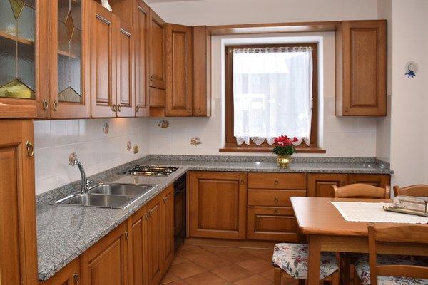 Foto der Küche Ferienwohnungen in den Dolomiten im Val Comelico