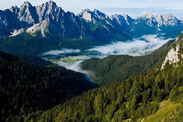Foto estiva di presentazione Consorzio Comelico Sappada Dolomiti