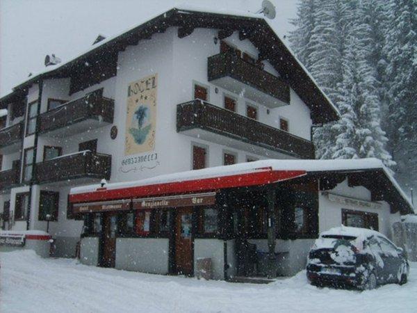 Foto esterno in inverno Genzianella