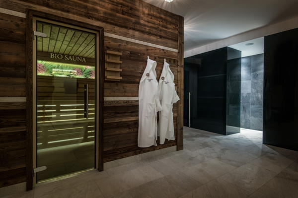 Photo of the sauna San Cassiano