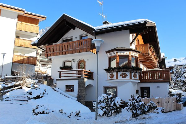 Foto invernale di presentazione Appartamento Everest Bruno