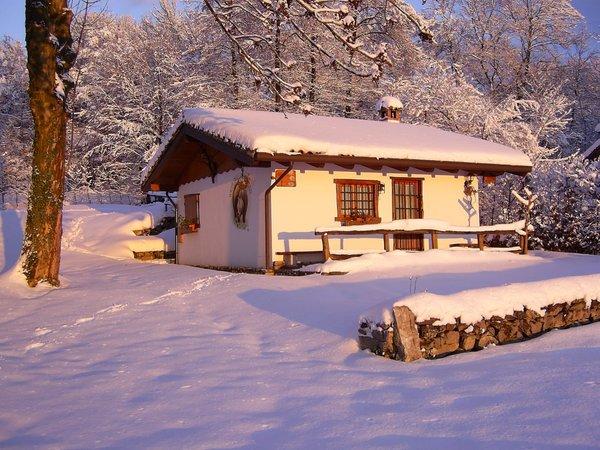 Foto invernale di presentazione Casa vacanze Baita Tana da l'Ors