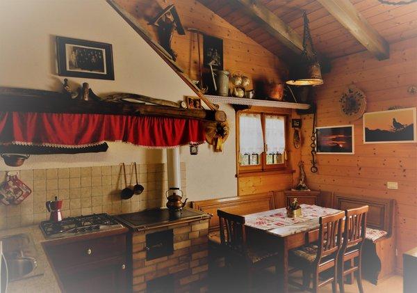 Foto della cucina Baita Tana da l'Ors