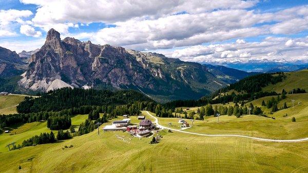 La posizione Piz Arlara - Ristorante Alpino Corvara