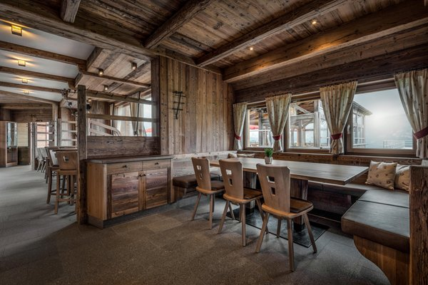 Das Restaurant Corvara Bergrestaurant Piz Arlara