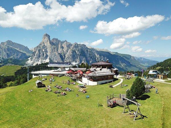Foto esterno in estate Piz Arlara - Ristorante Alpino