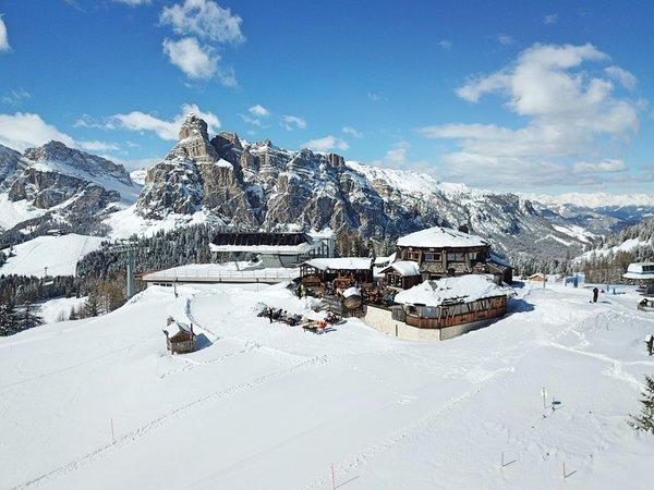 Foto invernale di presentazione Piz Arlara - Ristorante Alpino