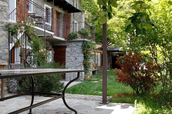 Foto estiva di presentazione Il Dosso - Maroggia - B&B + Appartamenti