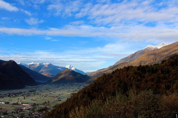 Panorama Berbenno di Valtellina (Sondrio - Valmalenco)