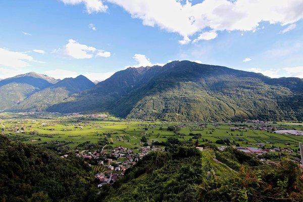 La posizione B&B + Appartamenti Il Dosso - Maroggia Berbenno di Valtellina (Sondrio - Valmalenco)