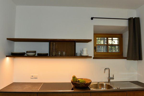 Foto della cucina Appartamenti Mitterhof 1544