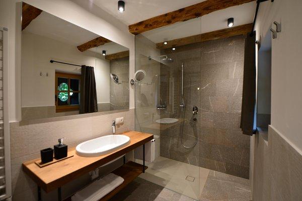 Foto del bagno Appartamenti Mitterhof 1544