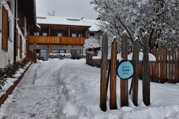 Foto invernale di presentazione Appartamenti Mitterhof 1544 - Appartamenti 2 fiori