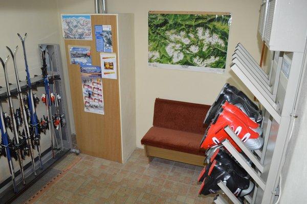 La skiroom Appartamenti Ciasa Andy