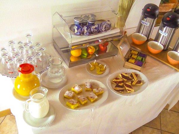 The breakfast Hotel Larese