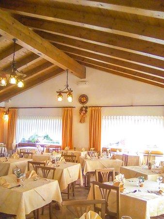 The restaurant Auronzo di Cadore Larese
