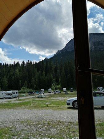 Die Gemeinschaftsräume Camping Alla Baita