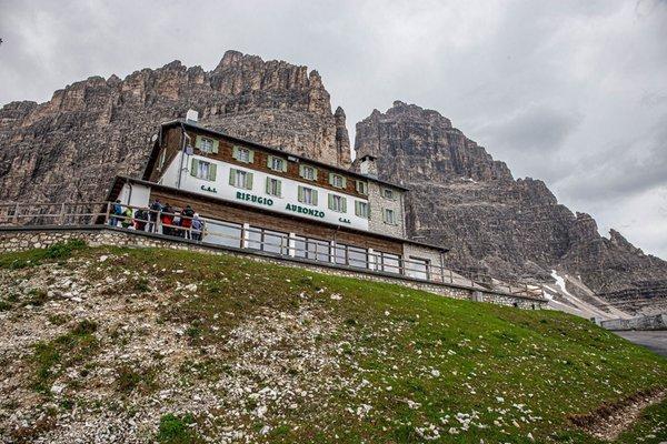 Foto estiva di presentazione Rifugio Auronzo