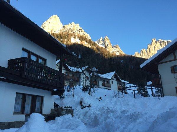 Foto esterno in inverno Casa Palumba