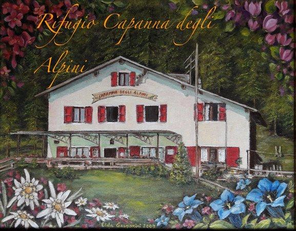 Berghütte Capanna degli Alpini com.xlbit.lib.trad.TradUnlocalized@238d56db
