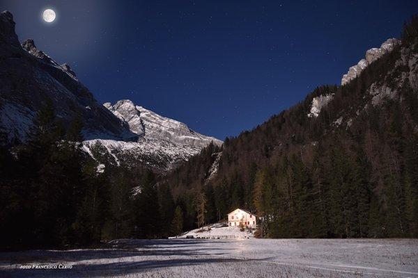 Winter Präsentationsbild Berghütte Capanna degli Alpini