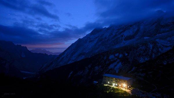 Foto esterno in inverno Pietro Galassi