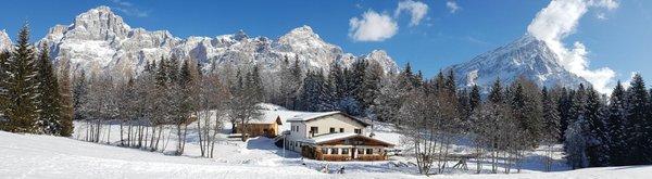 Foto esterno in inverno Alpe di Senes