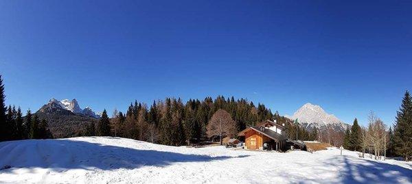 Foto esterno in inverno Gian Pietro Talamini