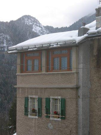 Foto esterno in inverno Airone