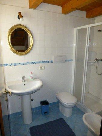 Foto del bagno Bed & Breakfast Piana di Nebbiù