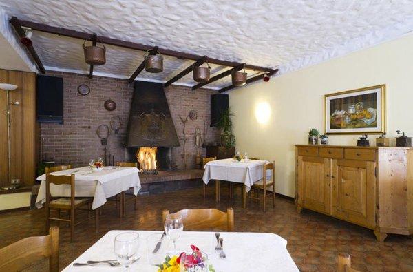 Il ristorante Pieve di Cadore (Centro Cadore) Giardino