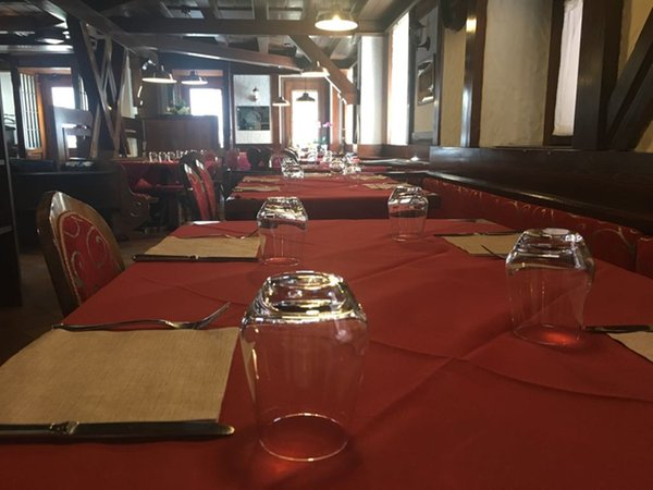 Das Restaurant Pieve di Cadore (Centro Cadore) Locanda Ai Dogi