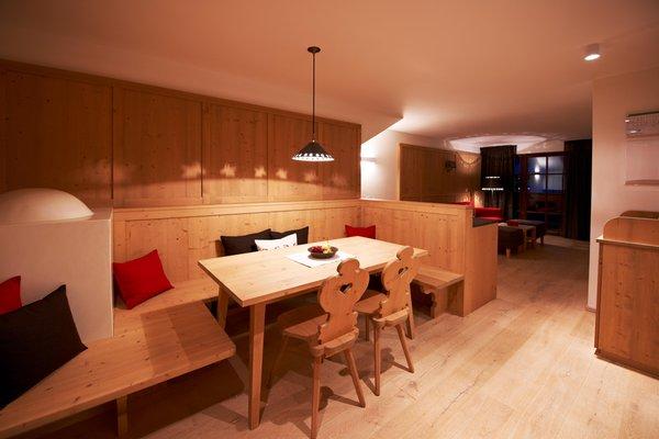 La zona giorno Zin Senfter - Residence 4 stelle