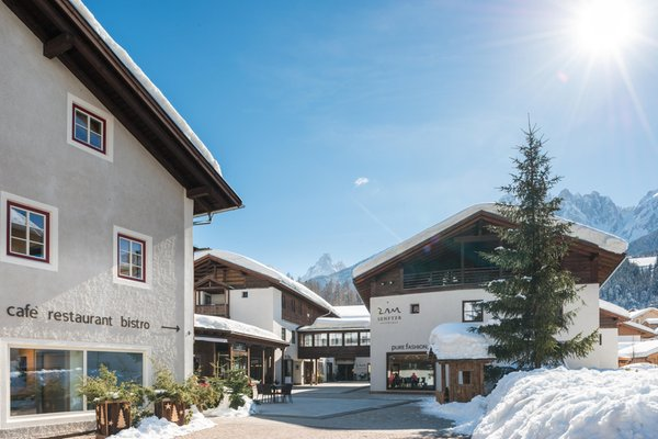 Foto invernale di presentazione Zin Senfter - Residence 4 stelle