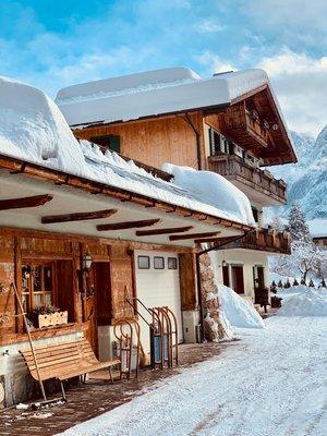 Photo exteriors in winter Olivotti Silva