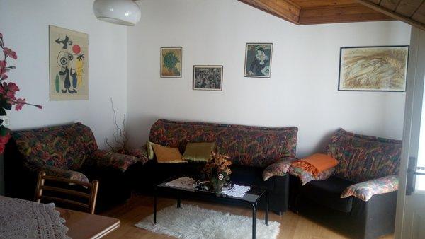 La zona giorno Appartamenti Roma Silvana
