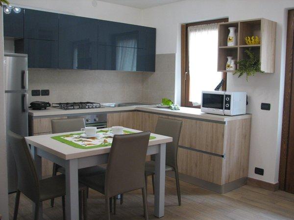 Foto der Küche Villa il Larice