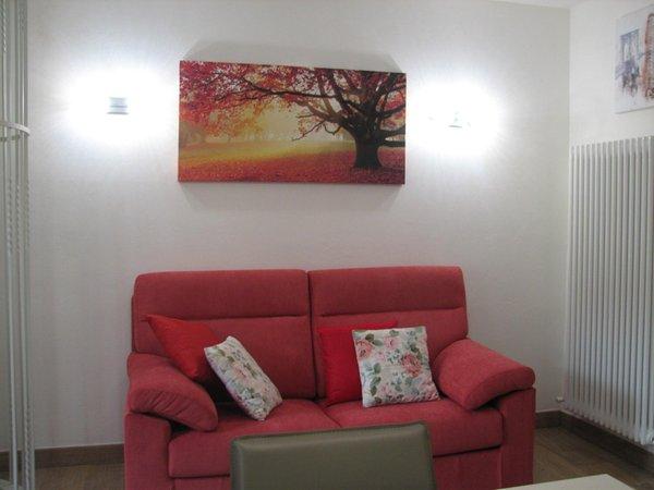Der Wohnraum Ferienwohnung Villa il Larice