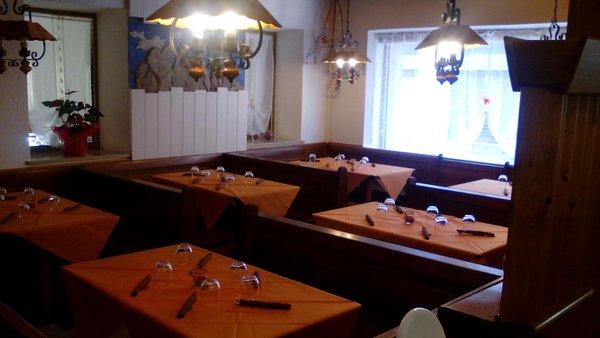 The restaurant Vigo di Cadore (Centro Cadore) Aquilotti