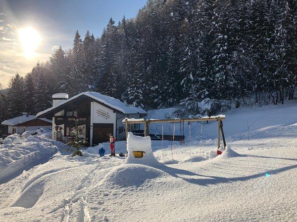 Foto invernale di presentazione Appartamenti Orizzonti Montani