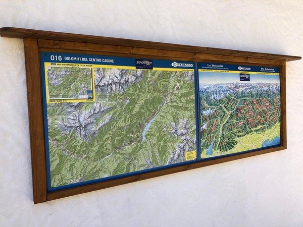 Foto di alcuni dettagli Orizzonti Montani