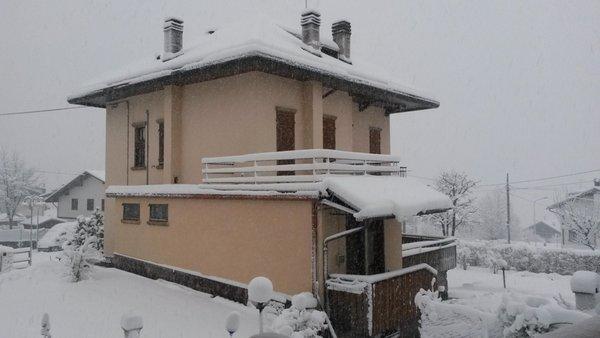 Foto invernale di presentazione Appartamento Casa Vascellari