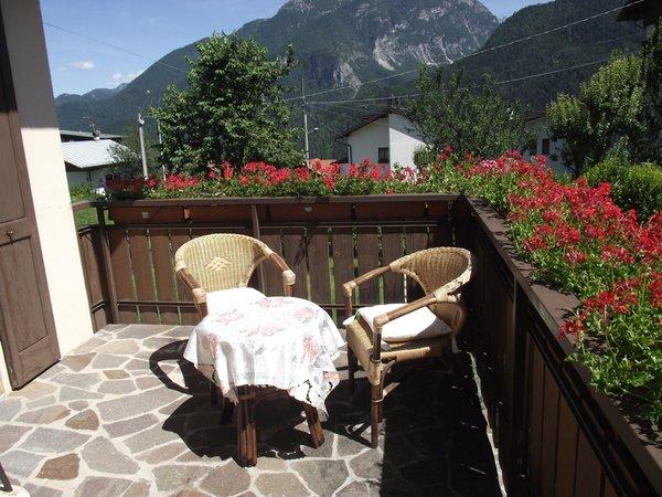Foto del balcone Casa Vascellari