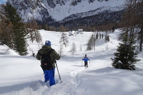 Winter activities Cortina d'Ampezzo and surroundings