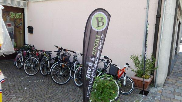 Präsentationsbild Fahrradverleih Bike&Sport